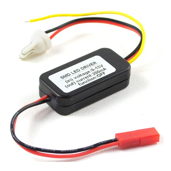 Схема ограничителя тока (LED-драйвера) для светодиодных ангельских глазок.