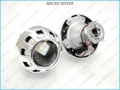 """Биксеноновая линза LX micro Rover H1 1.8"""""""