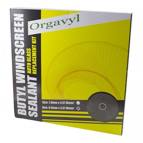 Герметик бутиловый шнур ORGAVYL черный