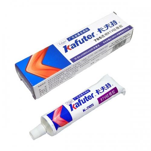 Клей-герметик жидкий Kafuter K-705 - прозрачный