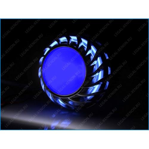 Подсветка для линз 2,5 и 3 дюйма - синяя
