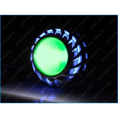 Подсветка для линз 2,5 и 3 дюйма - зеленая