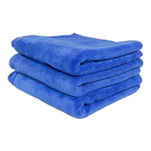 Полотенце микрофибра 400GSM - цвет синий