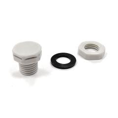 Сапун с фильтром и гайкой M12 серый