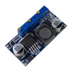Регулируемый понижающий преобразователь тока и напряжения 7V - 35V (LM2596S)