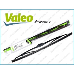 Щетка стеклоочистителя каркасная Valeo First 400mm