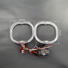 Уценка! Глазки ангельские диодные LX Crystal LED квадрат