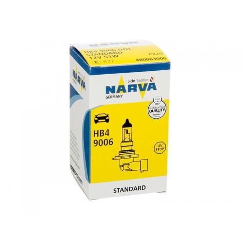 я Галогеновая лампа Narva Standard HB4