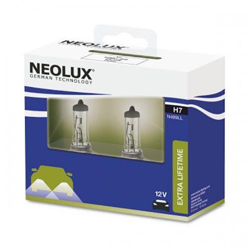 Галогенные лампы Neolux H7 Extra Lifetime