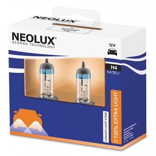 Галогенные лампы Neolux H4 Extra Light +130%
