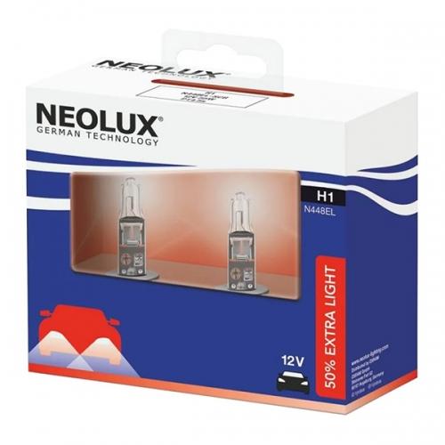 Я Галогенная лампа Neolux Standard H1 Extra Light +50%