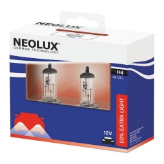 Галогенные лампы Neolux H4 Extra Light +50%
