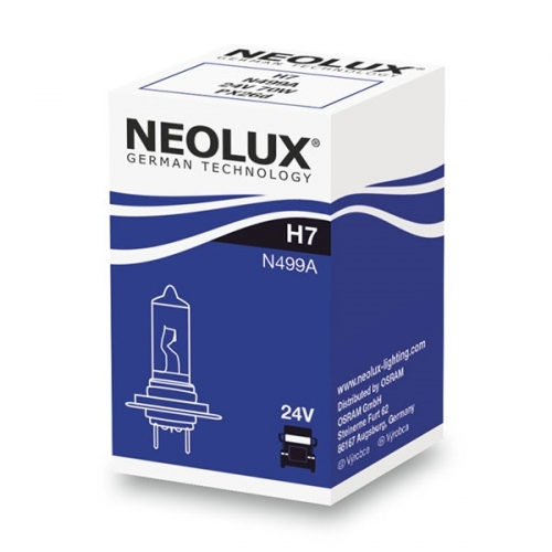 Я Галогенная лампа 24V Neolux Standard H7