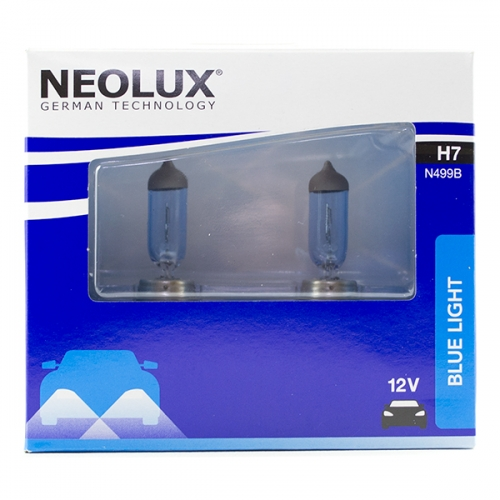 я Галогенная лампа Neolux Standard H7 Blue Light