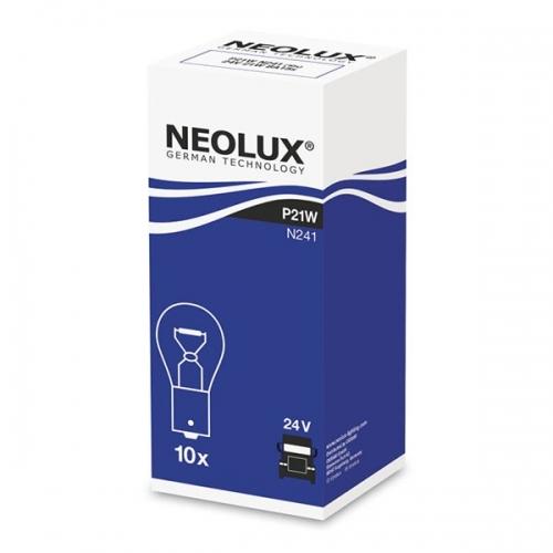 Я Лампа доп. освещения Neolux Standard 24V P21W Ba15s