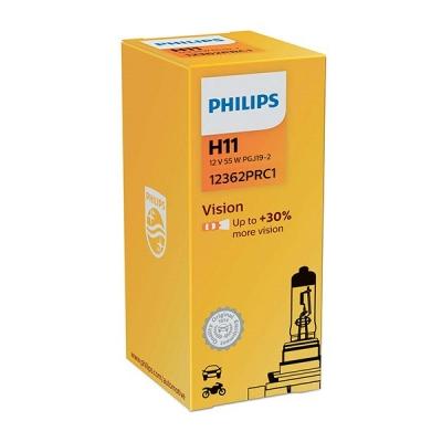 Галогенная лампа Philips Vision H11 +30%