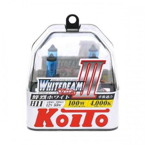я Галогенные лампы Koito WhiteBeam ver.3 +80% HB3