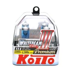 я Галогенные лампы Koito WhiteBeam ver.3 Premium +125% H4