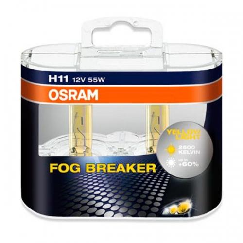 я Галогенные лампы Osram Fog Breaker H11