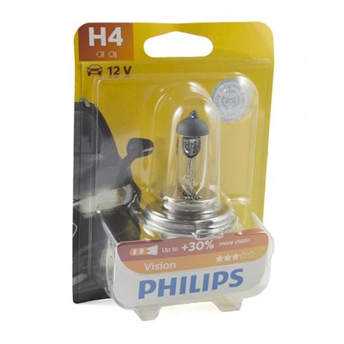 я Галогенные лампы Philips Vision H4 +30%