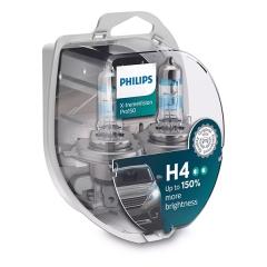 Галогенные лампы Philips VisionPro H4 +150%