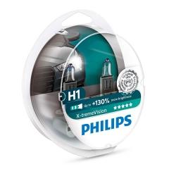 я Галогенные лампы Philips X-tremeVision H1 +130%