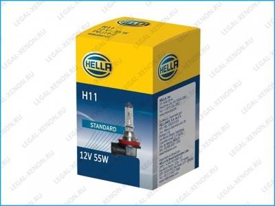 Галогеновая лампа Hella Standard H1 24V (8GH002089251)