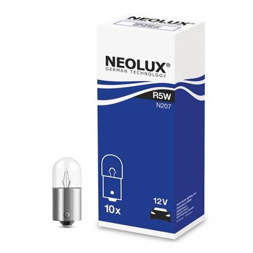 Лампа доп. освещения Neolux Standard R5W Ba15s