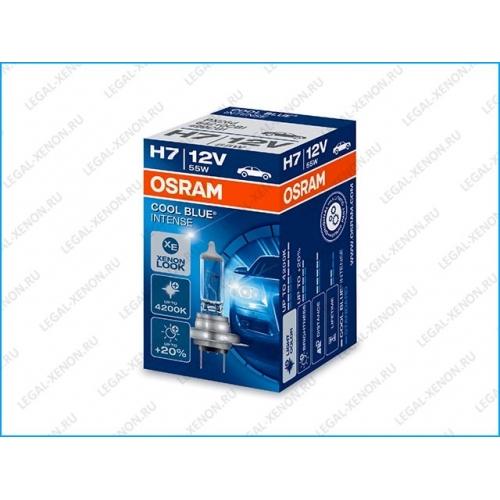 я Галогеновая лампа Osram Cool Blue Intense H7