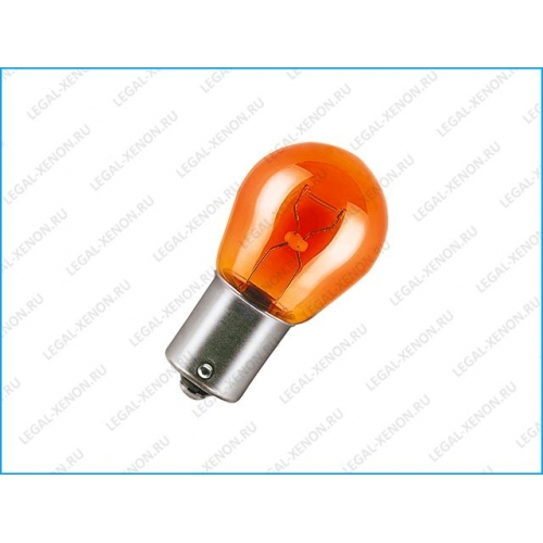 Лампа доп. освещения Neolux Standard PY21W Bau15s