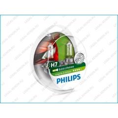 я Галогеновые лампы Philips LongLife EcoVision H7