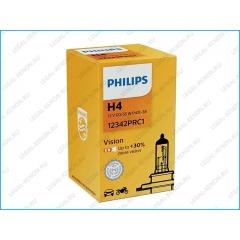 я Галогеновая лампа Philips Vision H4 +30%