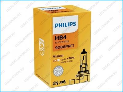 я Галогеновая лампа Philips Vision HB4 +30% (9006PRC1)