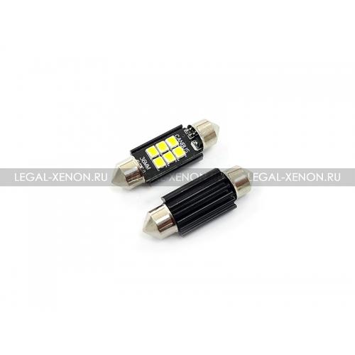 Я LED лампа C5W-36-SMD3030-6 размер 36мм