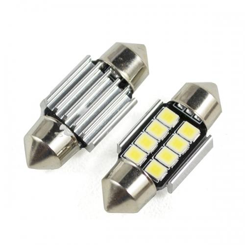 Я Светодиодная лампа C5W-SMD2835-8 размер 31мм