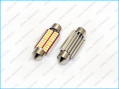 я Светодиодная лампа C5W-SMD4014-20 размер 39мм