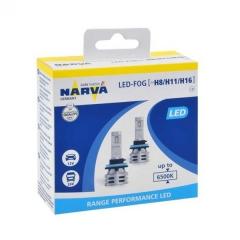 LED лампы Narva Range Performance LED H8 / H11 / H16 6500K (180363000)
