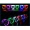 Подсветка для линз RGB с Bluetooth управлением со смартфона
