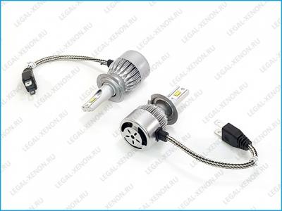 Светодиодные лампы LX ETI LIGHT C6-F цоколь H7