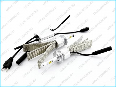 Светодиодные лампы LX HOT LIGHT A1 4300K цоколь H4