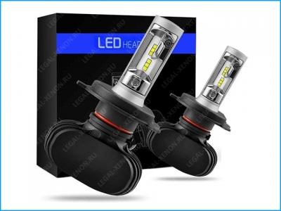 я Светодиодные лампы LX LED LIGHT S1 цоколь H4