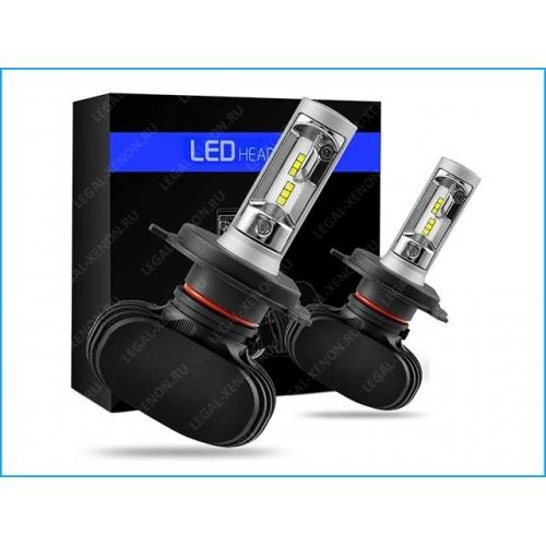 я LED лампы LX LED LIGHT S1 цоколь H4