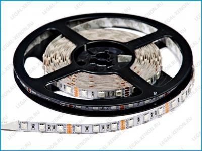 Светодиодная лента LX LED STRIP RGB на базе SMD5050 (60 шт/м)