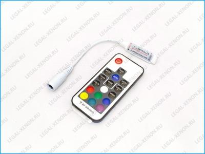 Контроллер LED RGB с радио пультом 17 кнопок