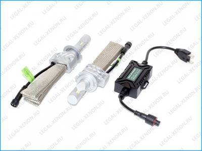 Светодиодные лампы LX ZES 5S цоколь H4 (с обманками)