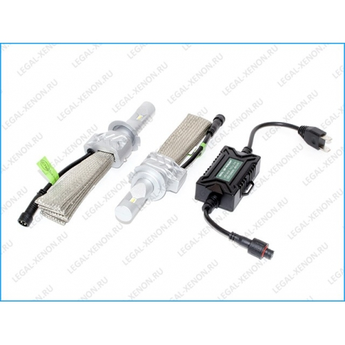 я Светодиодные лампы LX ZES 5S цоколь HB3 / 9005 (с обманками)