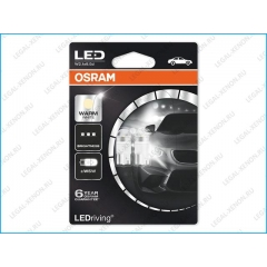 я LED лампы Osram LEDriving Premium T10 W5W Warm White (2850WW02B)
