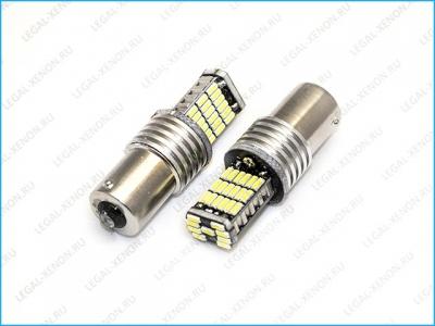 Светодиодная лампа (BA15S) P21-SMD4014-45