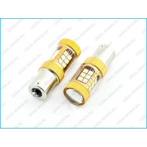 я LED лампа (BAU15S) PY21-SMD3030-28