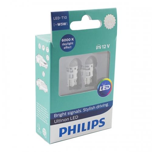 Светодиодные лампы Philips Ultinon LED T10 W5W 6000K
